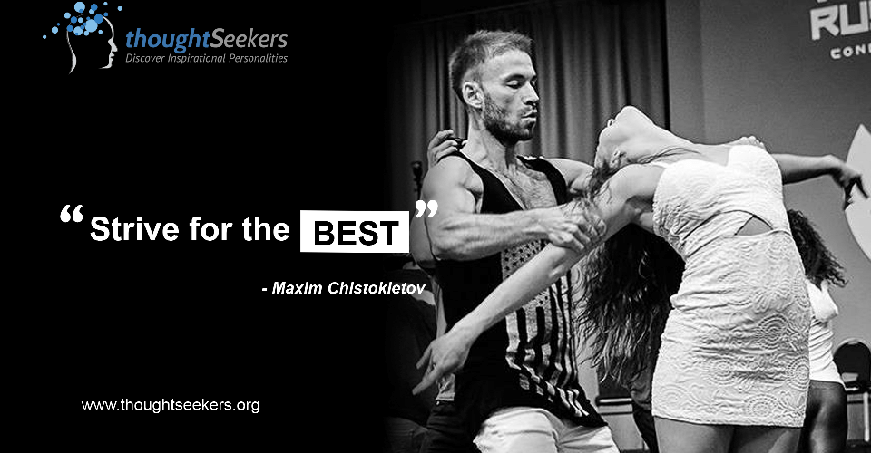 Maxim Chistokletov - thoughtSeeker