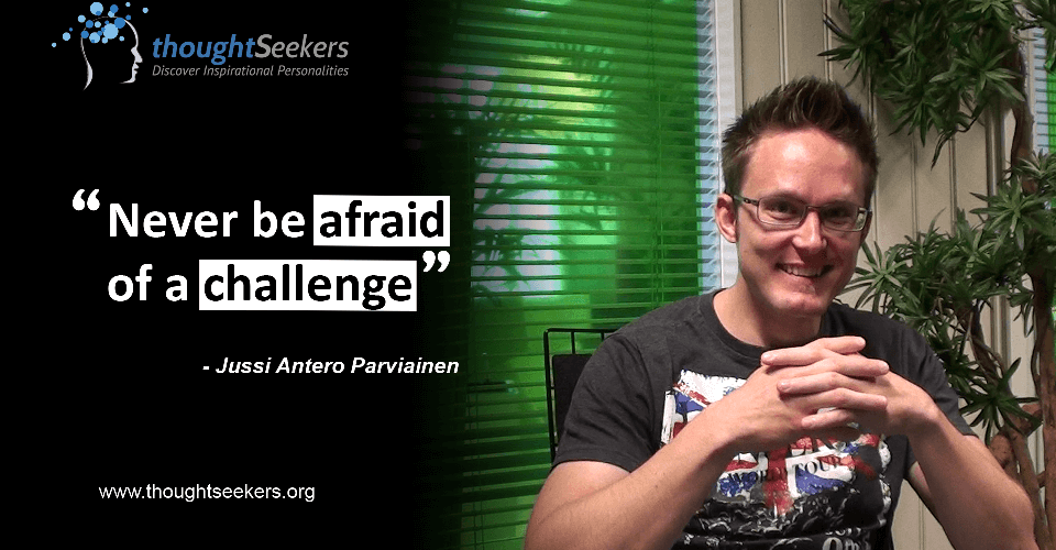Jussi Antero Parviainen - Hub Tampere - thoughtSeeker