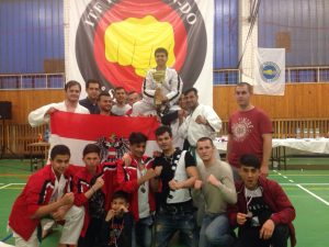 Austria wins first place at the Slovak Opens in Senec in Tae-Kwon-Do.