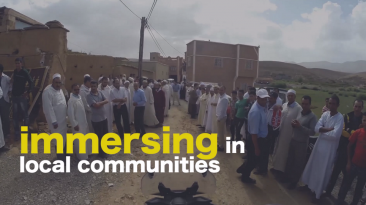 thoughtSeekers immersing in Local communities