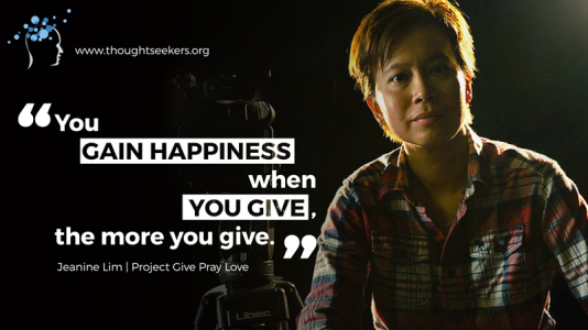 Project Give Pray Love Jeanine Lim